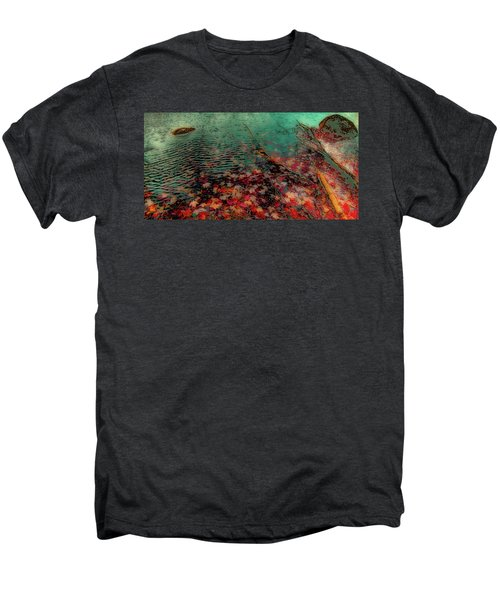 Men's Premium T-Shirt featuring the photograph Autumn Submerged by David Patterson