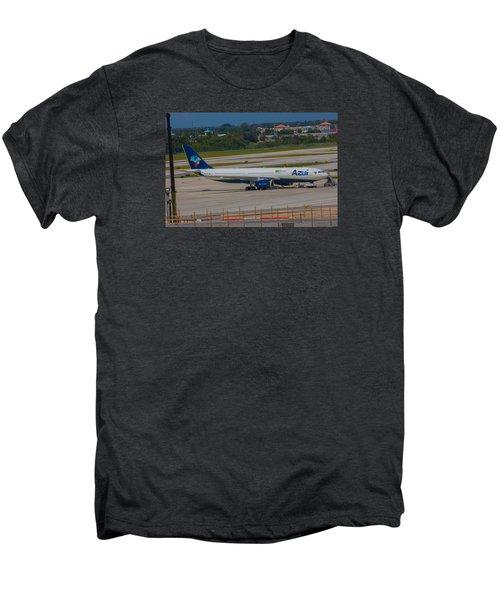 Azul Barzillian Airline Men's Premium T-Shirt