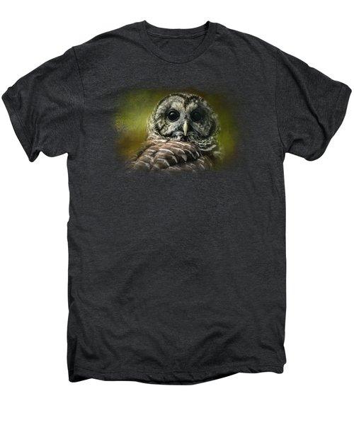 Barred Owl In The Grove Men's Premium T-Shirt