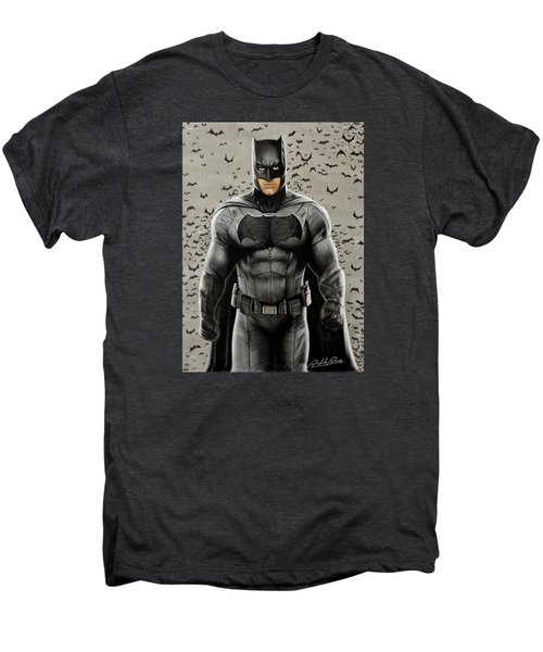Batman Ben Affleck Men's Premium T-Shirt by David Dias