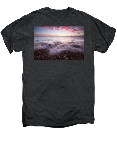 Beach Sunrise Men's Premium T-Shirt