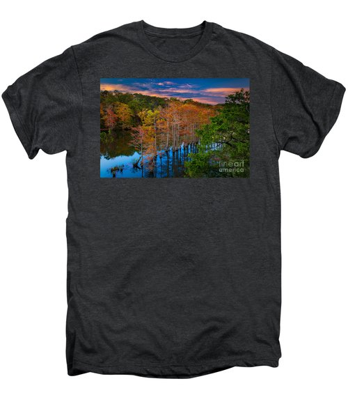 Beavers Bend Twilight Men's Premium T-Shirt