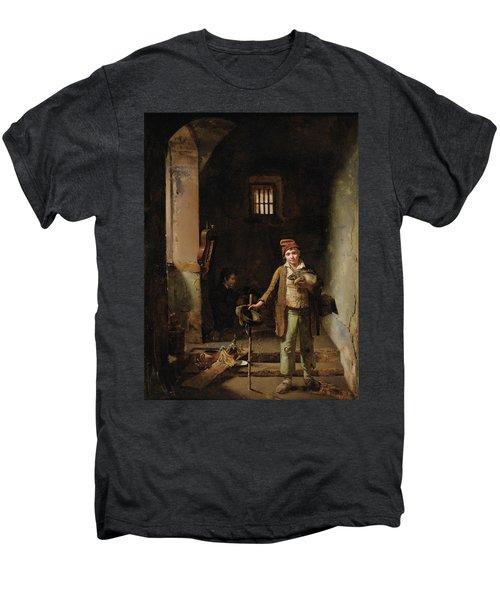 Bedroom Or The Little Groundhog Shower Men's Premium T-Shirt