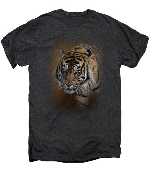 Bengal Stare Men's Premium T-Shirt