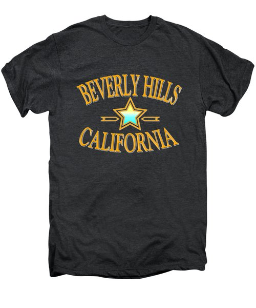 Beverly Hills California Star Design Men's Premium T-Shirt