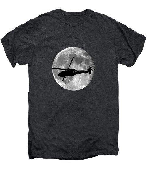 Black Hawk Moon .png Men's Premium T-Shirt by Al Powell Photography USA