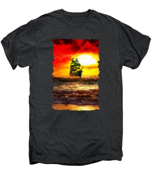 Black Pearl Men's Premium T-Shirt