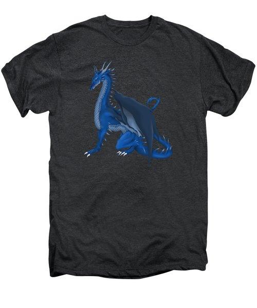 Blue Dragon Men's Premium T-Shirt by Gaynore Craps