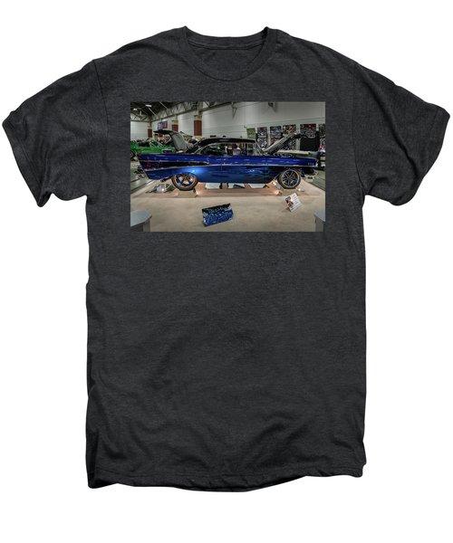 Men's Premium T-Shirt featuring the photograph Blue Heaven by Randy Scherkenbach