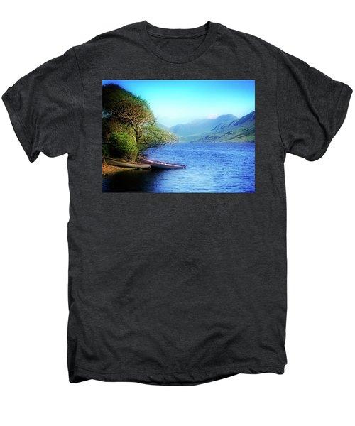 Boats At Rest Men's Premium T-Shirt