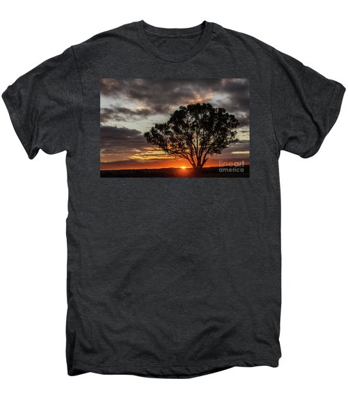 Boorowa Sunset Men's Premium T-Shirt