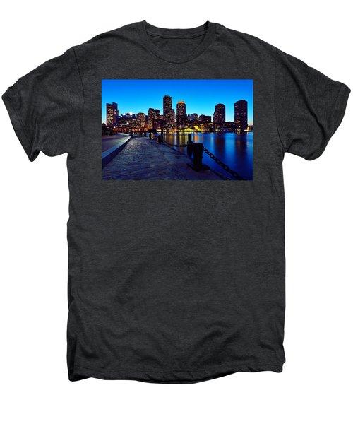 Boston Harbor Walk Men's Premium T-Shirt