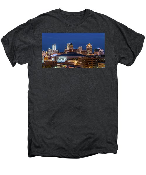 Brew City At Dusk Men's Premium T-Shirt