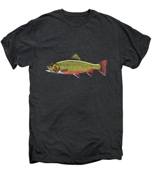 Brook Trout Men's Premium T-Shirt by Serge Averbukh