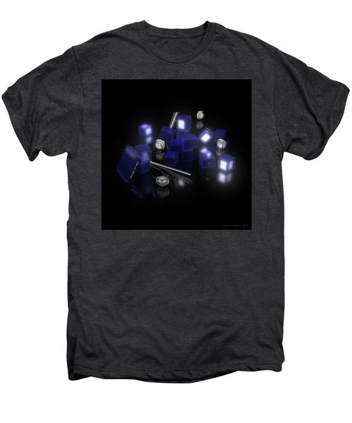 Building Blocks Of Space Time Travel Men's Premium T-Shirt