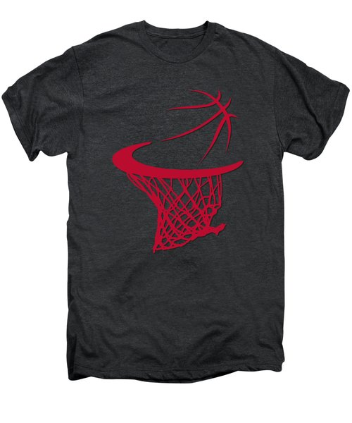 Bulls Basketball Hoop Men's Premium T-Shirt by Joe Hamilton