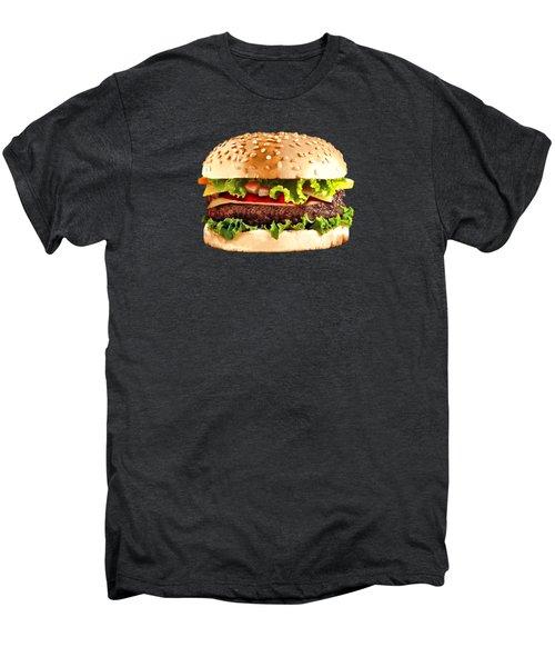 Burger Sndwich Hamburger Men's Premium T-Shirt