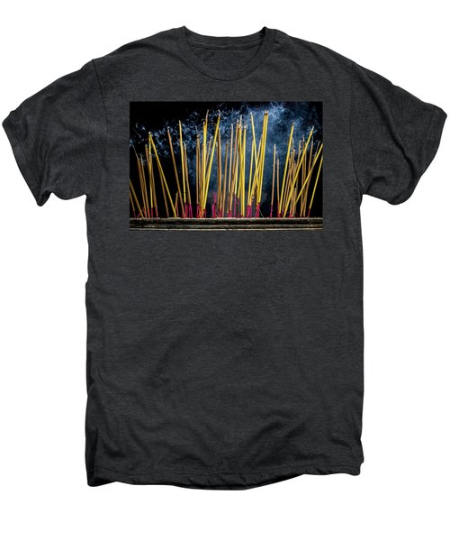 Burning Joss Sticks Men's Premium T-Shirt