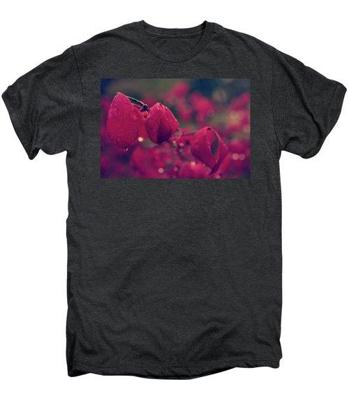 Burning Red Men's Premium T-Shirt