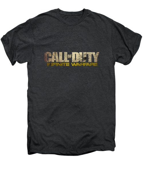 Call Of Duty Men's Premium T-Shirt by Ryan Tubilan