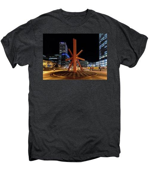 Men's Premium T-Shirt featuring the photograph Calling After Sundown by Randy Scherkenbach