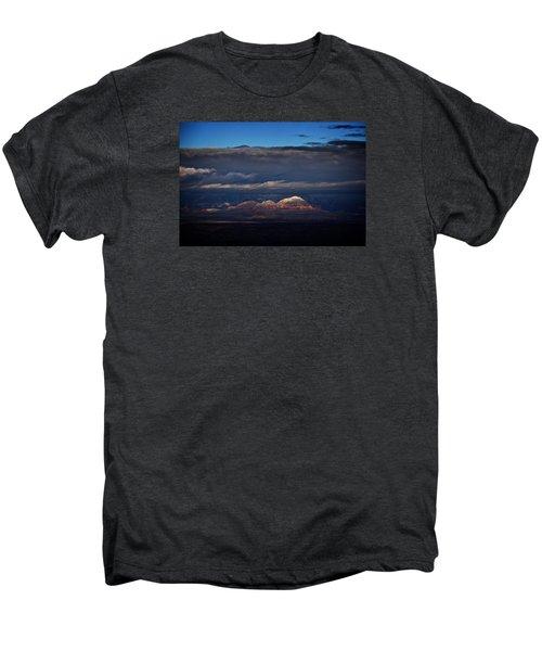 Capitol Butte In Sedona With Snow Men's Premium T-Shirt