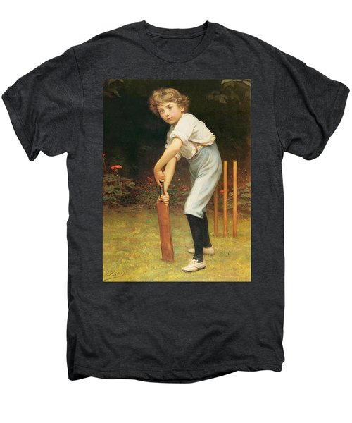 Captain Of The Eleven Men's Premium T-Shirt by Philip Hermogenes Calderon