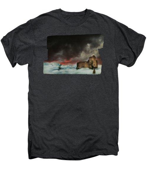 Castle In The Clouds Men's Premium T-Shirt