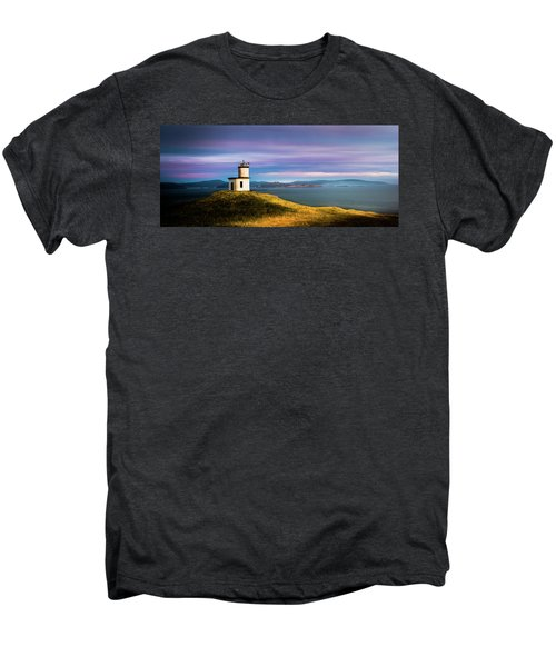 Cattle Point Lighthouse Men's Premium T-Shirt