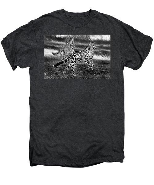 Chasing Mum Men's Premium T-Shirt by Miroslava Jurcik