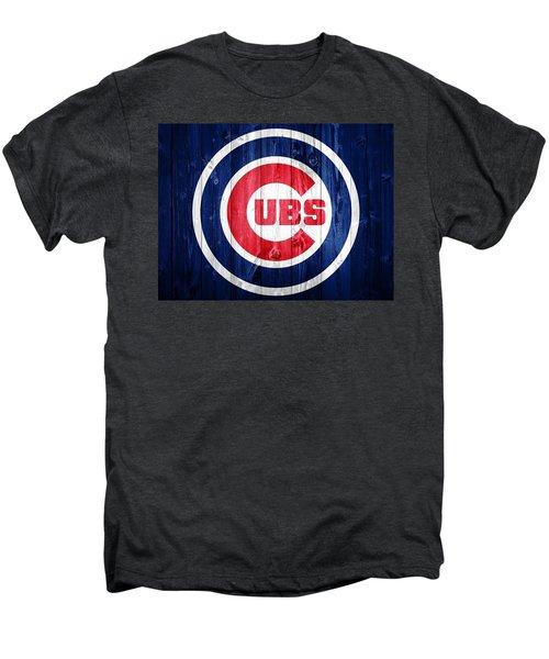 Chicago Cubs Barn Door Men's Premium T-Shirt by Dan Sproul