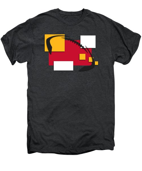 Chiefs Abstract Shirt Men's Premium T-Shirt by Joe Hamilton