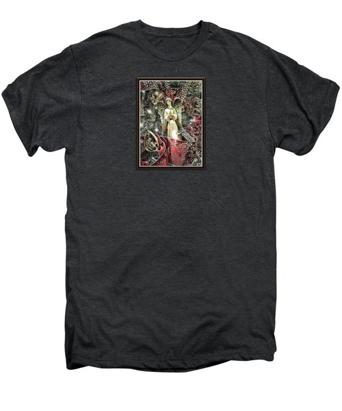 Christmas Angel Greeting Men's Premium T-Shirt