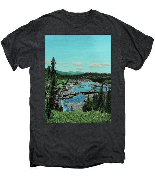 Churchill River Men's Premium T-Shirt