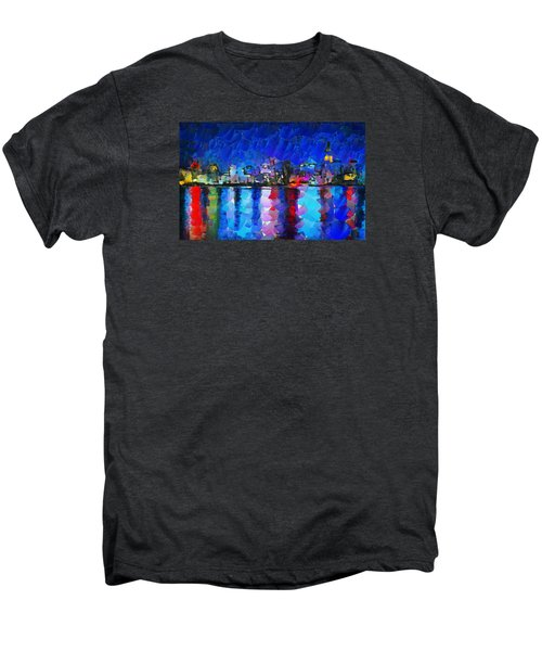 City Limits Tokyo Men's Premium T-Shirt by Sir Josef - Social Critic - ART