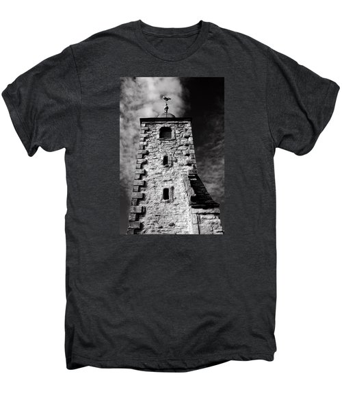 Clackmannan Tollbooth Tower Men's Premium T-Shirt by Jeremy Lavender Photography