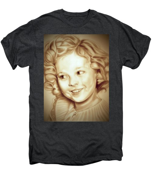 Classic Shirley Temple Men's Premium T-Shirt by Fred Larucci