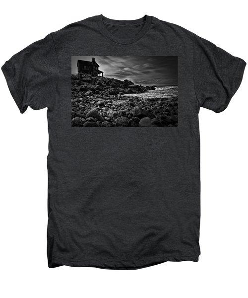 Coastal Home  Kennebunkport Maine Men's Premium T-Shirt