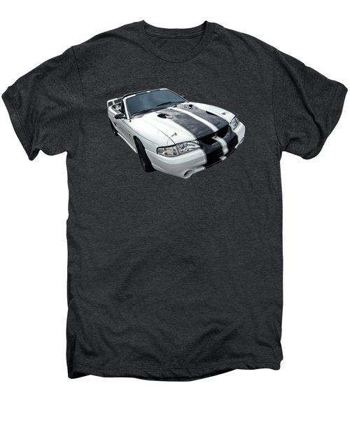 Cobra Mustang Convertible Men's Premium T-Shirt by Gill Billington