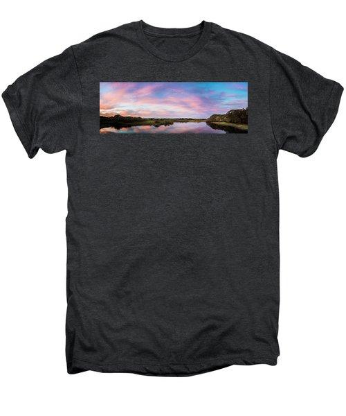 Colorful Sky Men's Premium T-Shirt