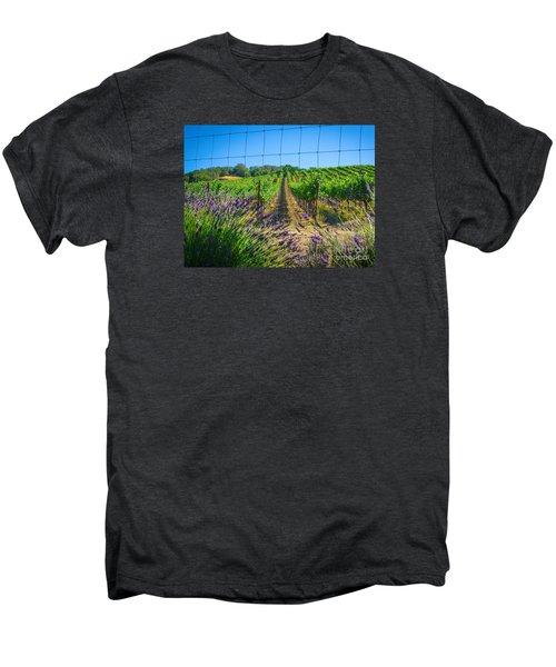 Country Lavender V Men's Premium T-Shirt