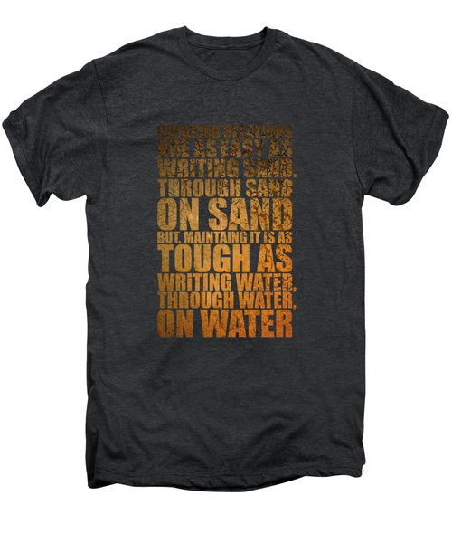 Creating Relations Men's Premium T-Shirt by Maria Christi