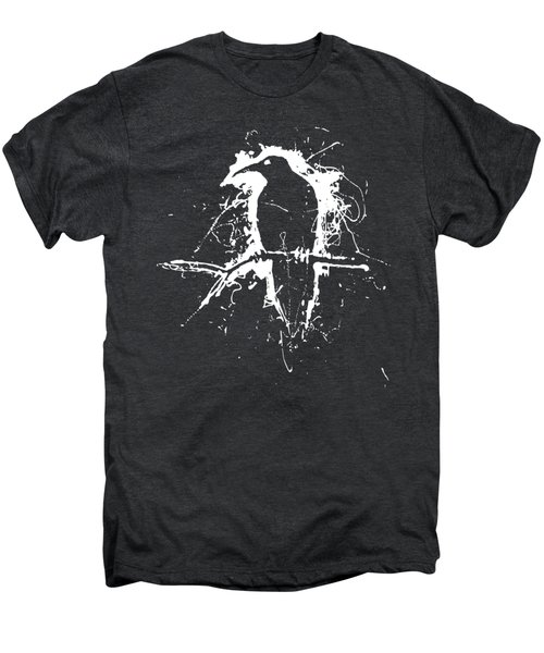Crow Men's Premium T-Shirt by H James Hoff