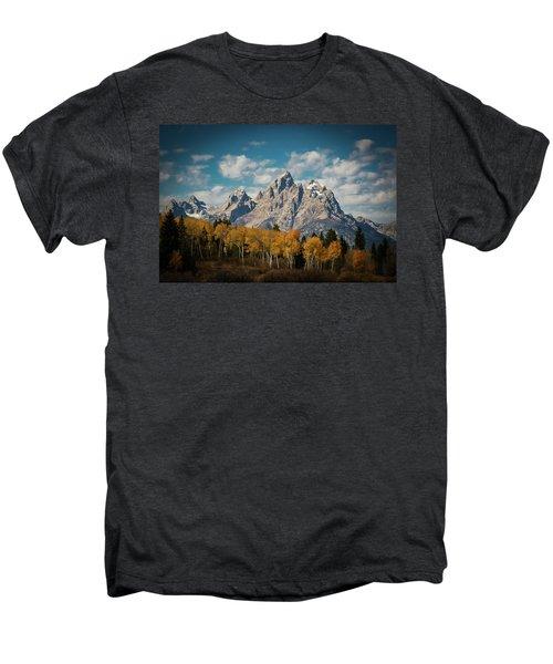 Crown For Tetons Men's Premium T-Shirt by Edgars Erglis