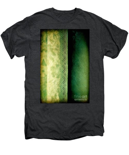 Men's Premium T-Shirt featuring the photograph Curtain by Silvia Ganora