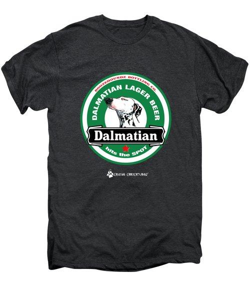 Dalmatian Lager Beer Men's Premium T-Shirt