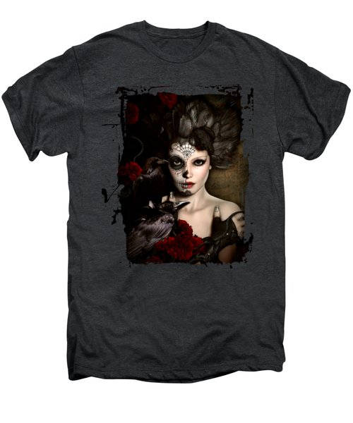 Darkside Sugar Doll Men's Premium T-Shirt by Shanina Conway