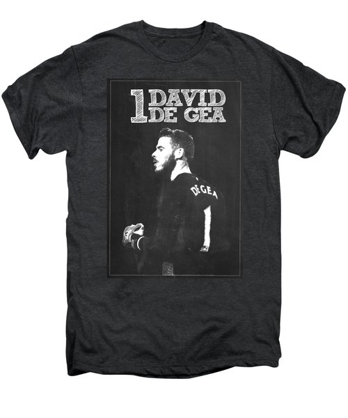 David De Gea Men's Premium T-Shirt by Semih Yurdabak