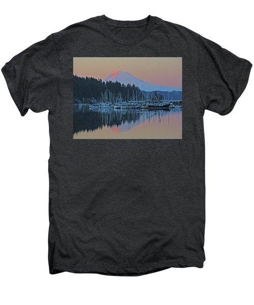 Dawn At Gig Harbor Men's Premium T-Shirt