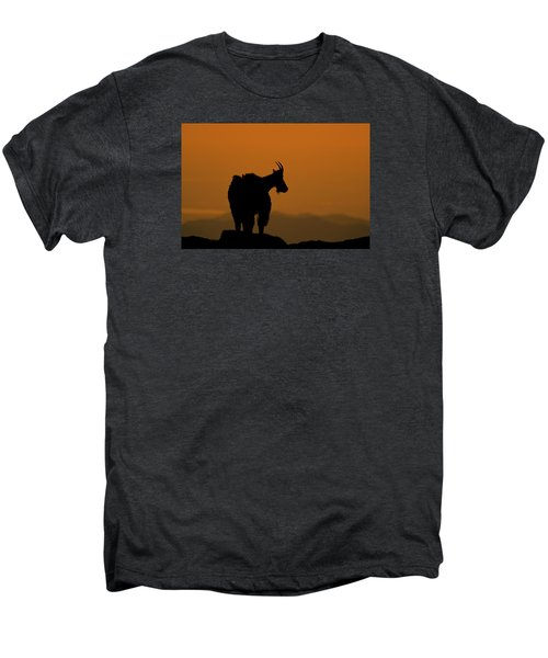 Men's Premium T-Shirt featuring the photograph Day's End by Gary Lengyel